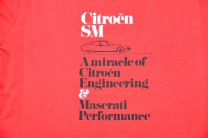 Citroboutique - Miracle shirt red - art work