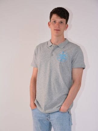 Citroboutique - Polo heather grey ricambi - zoom