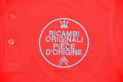 Citroboutique - Polo red ricambi - art work