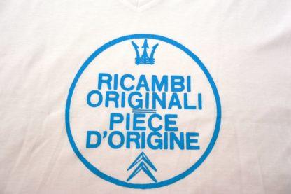 Citroboutique - T-shirt V-neck Ricambi - white - art work