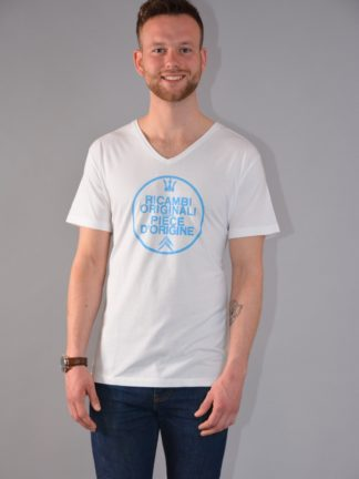 Citroboutique - T-shirt V-neck Ricambi - white - zoom