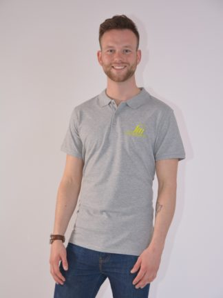 Citroboutique - polo heather grey SM - zoom