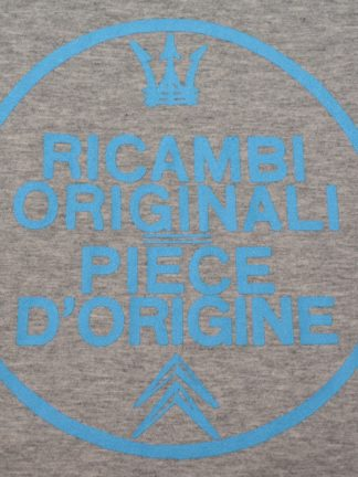 T-shirt round neck Ricambi - heather grey - art work