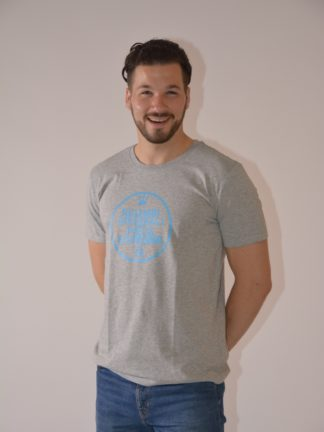 T-shirt round neck Ricambi - heather grey - zoom