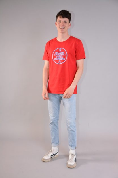 T-shirt round neck Ricambi - red